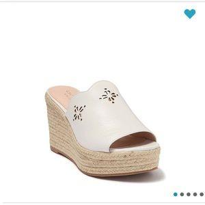 NWT Kate Spade Espadrille Wedge Sandal